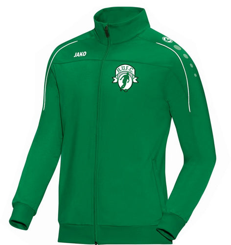 ADULT JAKO HIGHFIELD UNITED TRAINING JACKET CLASSICO HU8750 GREEN
