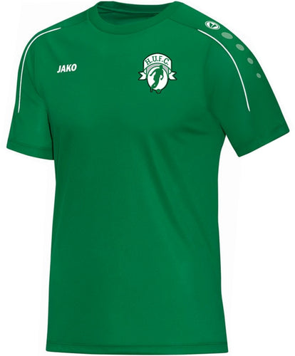 ADULT JAKO HIGHFIELD UNITED T-SHIRT CLASSICO HU6150 GREEN