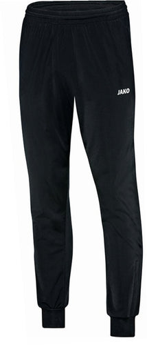ADULT JAKO HIGHFIELD UNITED POLYESTER TROUSERS CLASSICO HU9250 BLACK