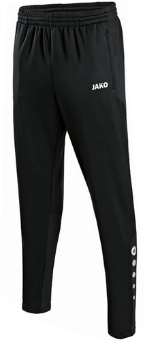 ADULT JAKO HIGHFIELD UNITED TRAINING TROUSERS HU8415 BLACK