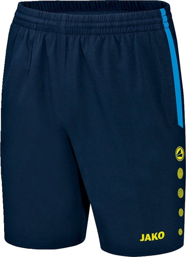 ADULT JAKO INNISFREE WHEELERS SHORTS IW6217 NAVY JAKO BLUE NEON YELLOW