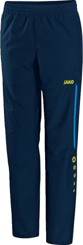 WOMENS INNISFREE WHEELERS PRESENTATION PANTS IW6517W JAKO BLUE NAVY NEON YELLOW