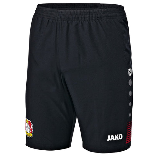 ADULT BAYER 04 LEVERKUSEN HOME SHORTS BA4418H BLACK