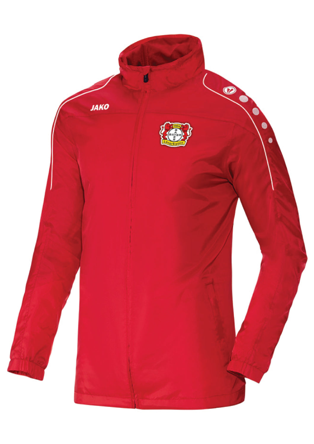 ADULT JAKO BAYER 04 LEVERKUSEN RAIN JACKET TEAM BA7401F
