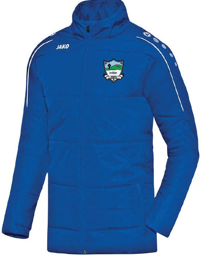 ADULT JAKO KILGLASS ENNISCRONE COACH JACKET KE7150 ROYAL