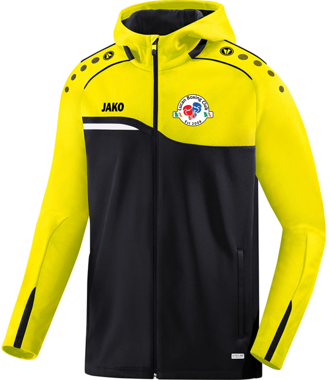 WOMENS JAKO LUCAN BOXING CLUB HOODY LBC6818W BLACK YELLOW