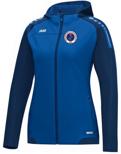 WOMENS MANORHAMILTON RANGERS AFC CHAMP HOODY MR6817W ROYAL NAVY
