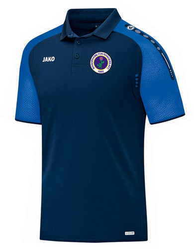 ADULT MANORHAMILTON RANGERS AFC CHAMP POLO MR6317 NAVY ROYAL