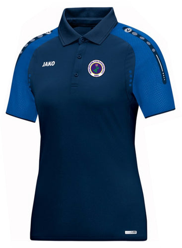 WOMENS MANORHAMILTON RANGERS AFC CHAMP POLO MR6317W NAVY ROYAL