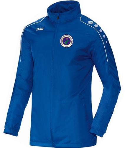ADULT MANORHAMILTON RANGERS AFC TEAM RAIN JACKET MR7401 Royal