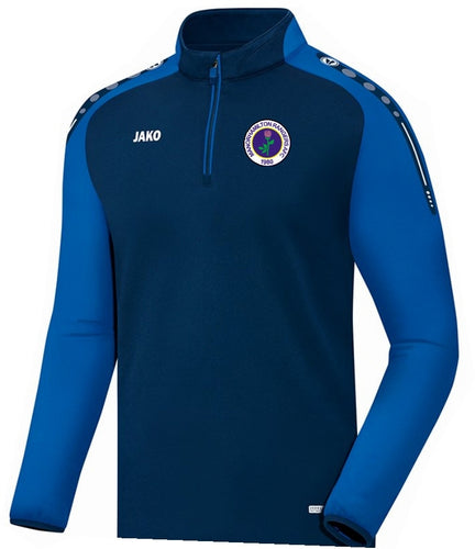 ADULT MANORHAMILTON RANGERS AFC CHAMP ZIP TOP MR8617 NAVY ROYAL
