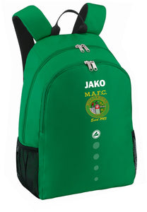 MULLINGAR ATHLETIC BACK PACK MA1850 GREEN