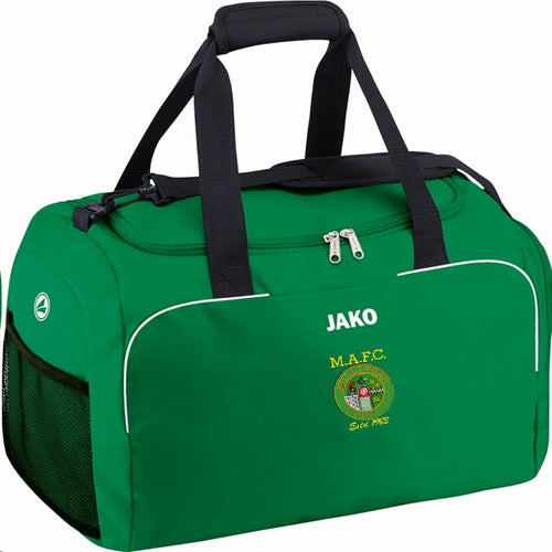 MULLINGAR ATHLETIC JUNIOR SPORTS BAG MA1950J GREEN