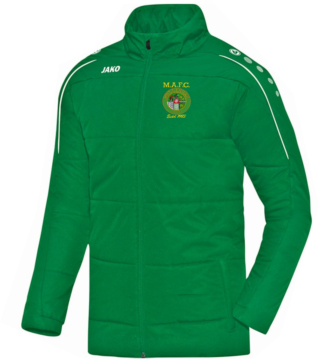 ADULT MULLINGAR ATHLETIC COACH JACKET MA7150 GREEN