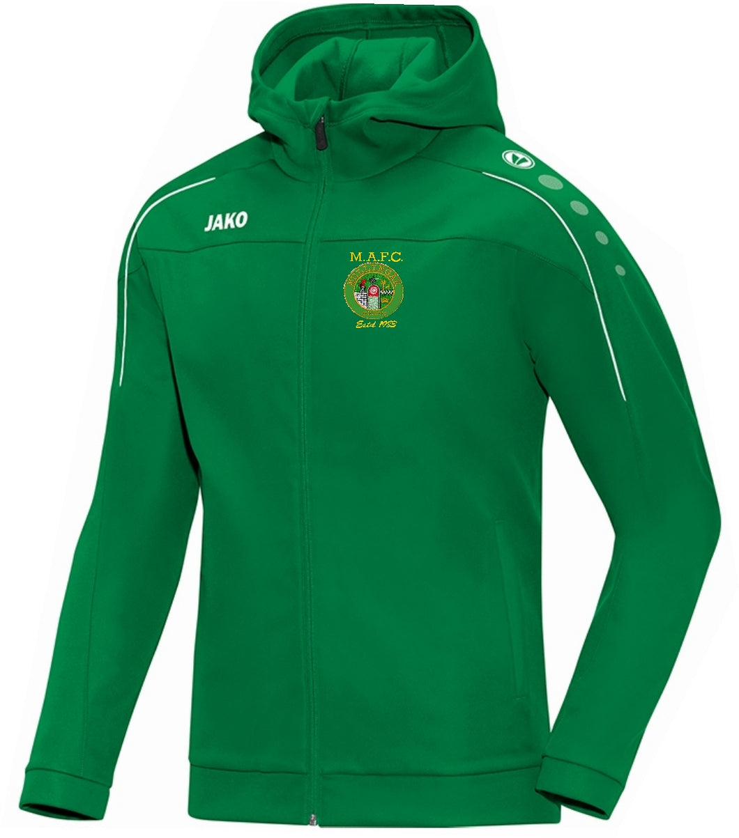 KIDS MULLINGAR ATHLETIC HOODY MA6850K GREEN