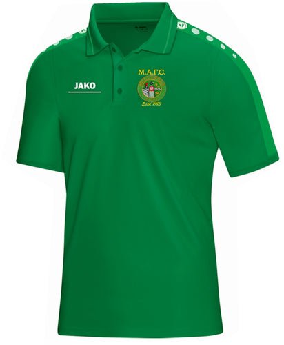 ADULT MULLINGAR ATHLETIC POLO MA6316 GREEN
