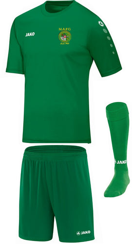 ADULT MULLINGAR ATHLETIC TRAINING KIT MA4233 GREEN