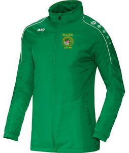 KIDS MULLINGAR ATHLETIC RAIN JACKET MA7401K GREEN