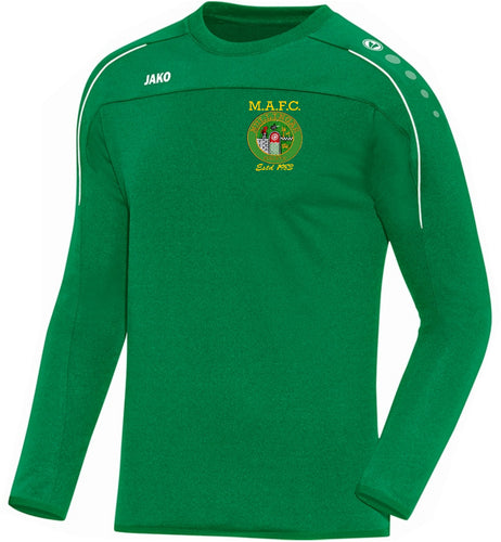 ADULT MULLINGAR ATHLETIC SWEATSHIRT MA8850 GREEN