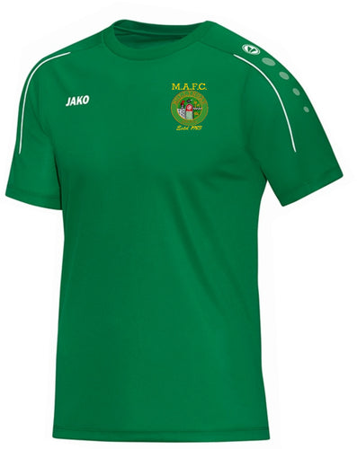 ADULT MULLINGAR ATHLETIC TSHIRT MA6150 GREEN