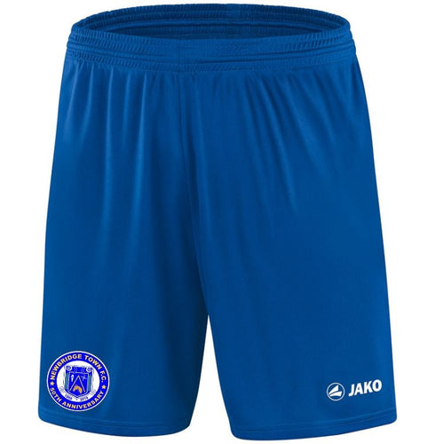 ADULTS JAKO NEWBRIDGE TOWN FC SHORTS NT4400 ROYAL