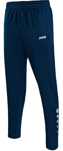 ADULT JAKO NEWBRIDGE TOWN FC PANTS NT8415 NAVY