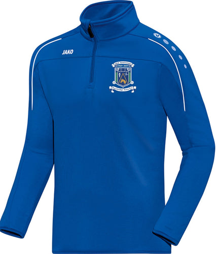 ADULT JAKO NEWBRIDGE TOWN FC ZIP TOP NT8650 ROYAL