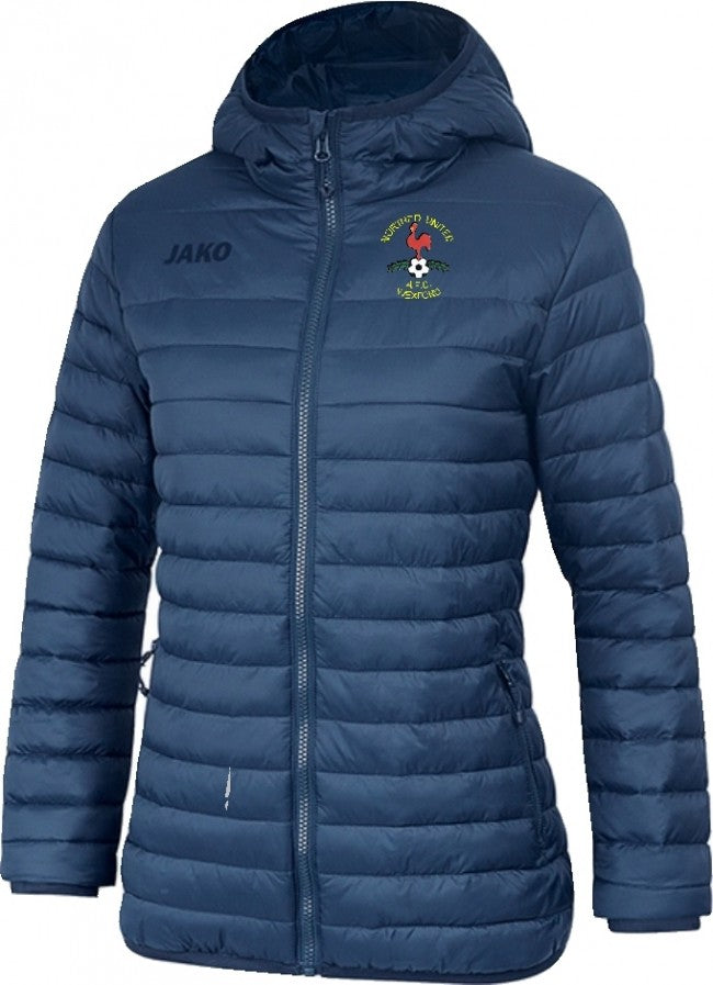 WOMENS JAKO NORTHEND UNITED QUILTED JACKET NE7204W