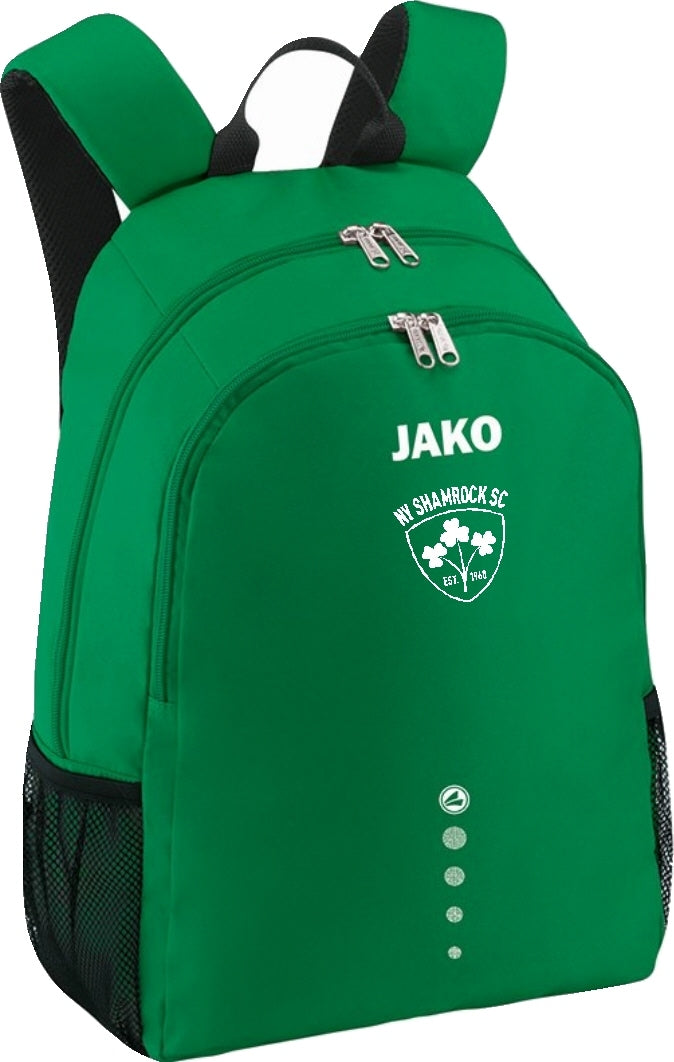 NY SHAMROCKS JAKO CLASSICO BACKPACK NYS1850 GREEN