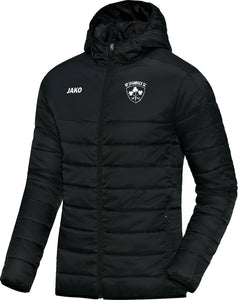 ADULT NY SHAMROCKS JAKO QUILTED JACKET NYS7250 BLACK