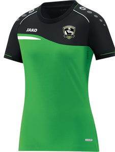 LADIES JAKO O'DONOVAN ROSSA T SHIRT COMPETITION 2.0 OR6118L