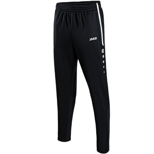ADULT JAKO O'DONOVAN ROSSA TRAINING TROUSERS ACTIVE OR8495 BLACK / WHITE
