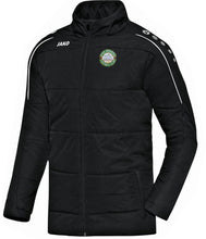 Load image into Gallery viewer, ADULT JAKO PIKE ROVERS COACH JACKET PR7150 BLACK