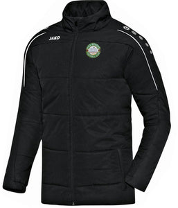 ADULT JAKO PIKE ROVERS COACH JACKET PR7150 BLACK
