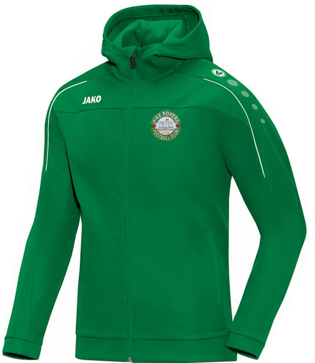 ADULT JAKO PIKE ROVERS HOODY PR6850 GREEN