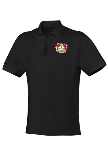ADULT JAKO BAYER 04 LEVERKUSEN POLO TEAM BA6333 BLACK