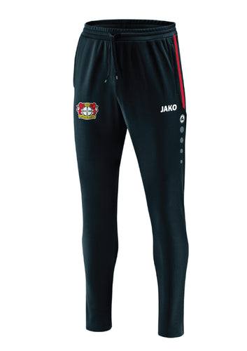 KIDS JAKO BAYER 04 LEVERKUSEN TRAINING PANTS PRESTIGE BA8419K BLACK