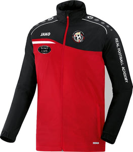 JAKO REAL FA COACH POLY JACKET RFA9318 RED BLACK