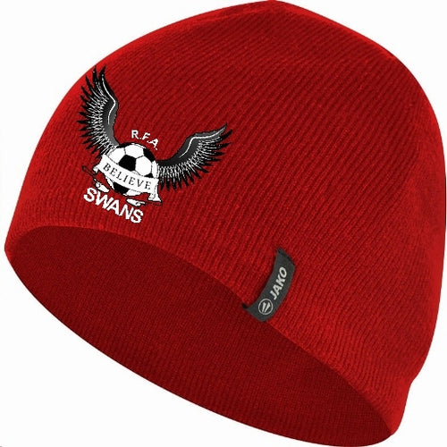 JAKO REAL FA SWANS BEANIE RFAS1222 RED