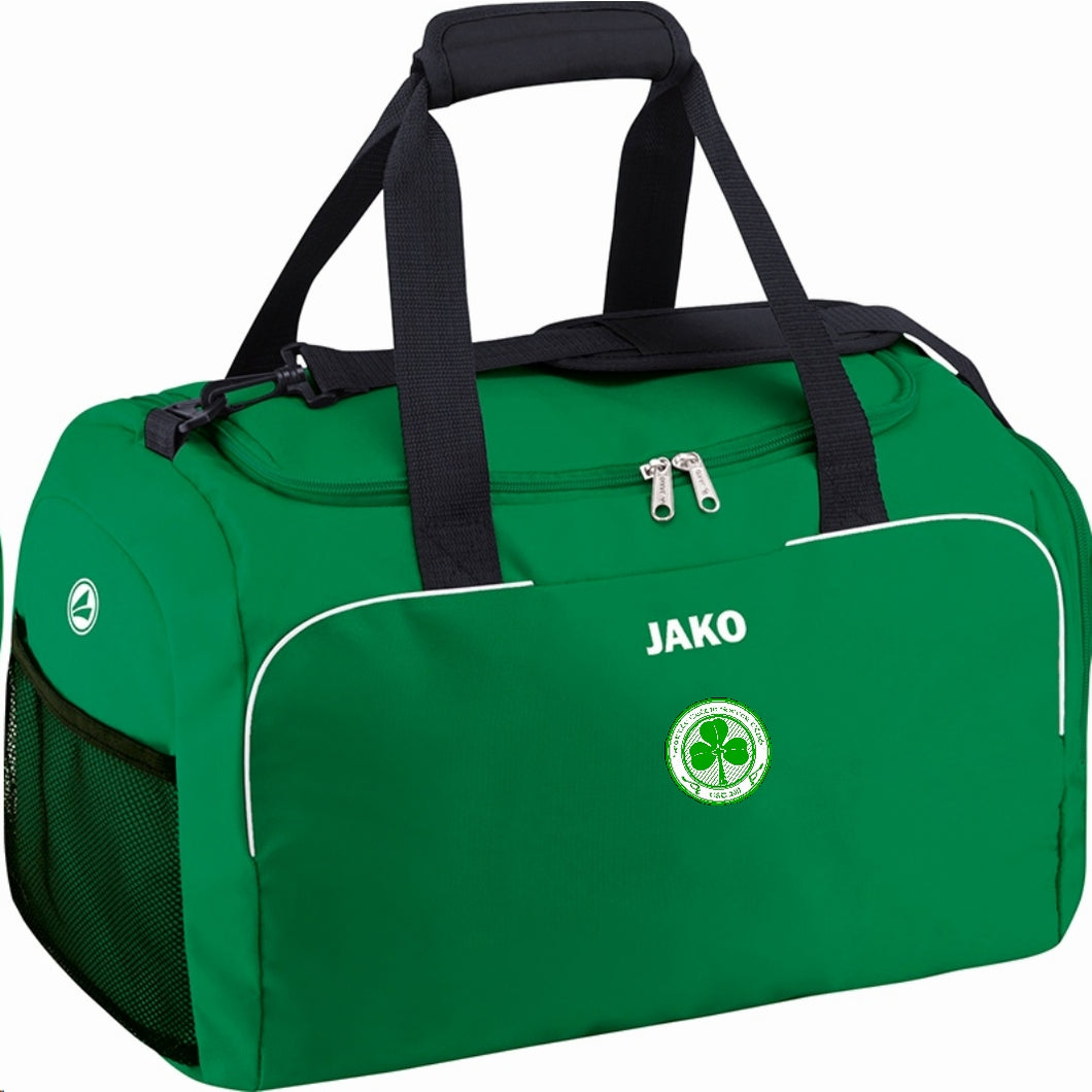 SEATTLE CELTIC SPORTS BAG SENIOR SC1972S BLACK SPORSGREEN
