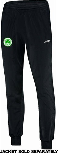 KIDS JAKO SEATTLE CELTIC POLYESTER PANTS SC9250KK BLACK