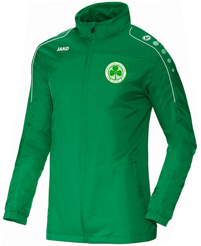 ADULTS SEATTLE CELTIC TEAM RAIN JACKET SC7401 GREEN