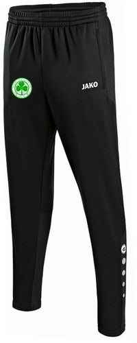 ADULTS SEATTLE CELTIC TRAINING PANTS SCT8415 BLACK