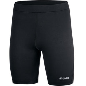 KIDS JAKO CRUSADERS AC SHORT TIGHT Run 2.0 CAC8526K BLACK FRONT