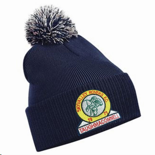 JAKO SKY VALLEY ROVERS BOBBLE HAT SVRBC450 NAVY
