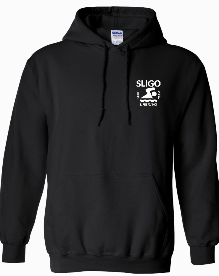 KIDS SLIGO SURF LIFESAVING HOODY SSJC001K BLACK
