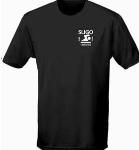 KIDS SLIGO SURF LIFESAVING TECH TSHIRT SSJC002K FRONT