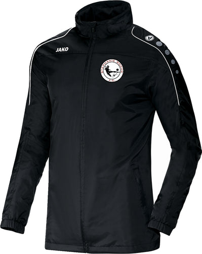 ADULT JAKO STEPHANIE ROCHE FC RAIN JACKET STRO7401 BLACK