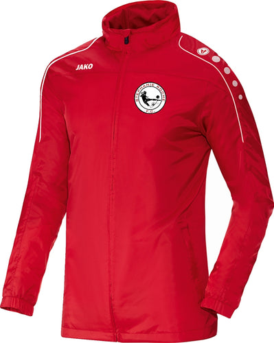 KIDS JAKO STEPHANIE ROCHE FC RAIN JACKET STRO7401K RED