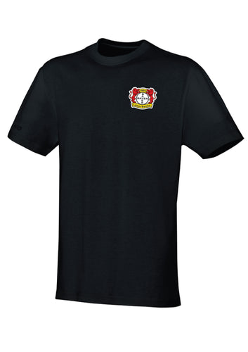 LADIES JAKO BAYER 04 LEVERKUSEN T SHIRT TEAM BA6133L BLACK